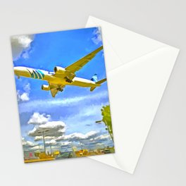 Airliner Pop Art Stationery Cards