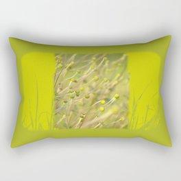 dancing in the sunlight Rectangular Pillow