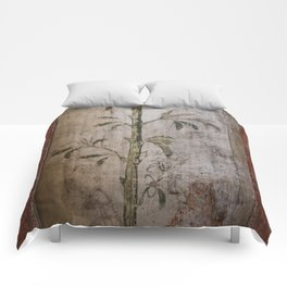 Antique wall painting Comforters