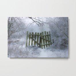 Off limits !! Metal Print