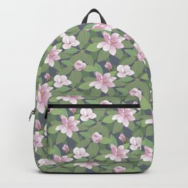 Magnolia and leaves Backpack
