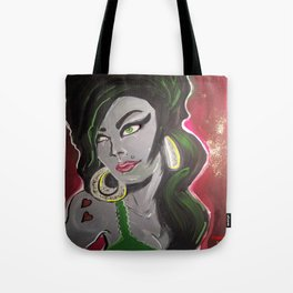 AMY ZOMBIEHOUSE  Tote Bag