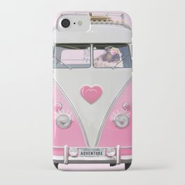 Pug Girly Adventure iPhone Case