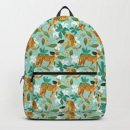 Cheetah Jungle #illustration #pattern Backpack