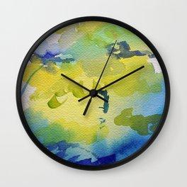 I dream in watercolor C Wall Clock