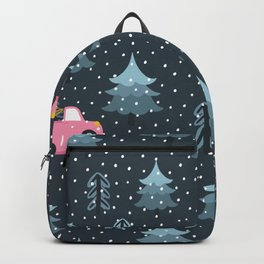 Pattern pine trees Backpack