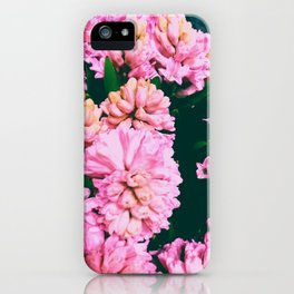 Pink Flora 1.2 iPhone Case