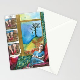 Click your heels Stationery Cards