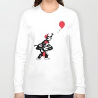 planet of the apes Long Sleeve T-shirts featuring Balloon Apes by merimeaux