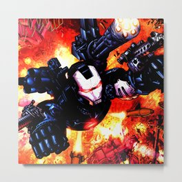 verily his war Metal Print