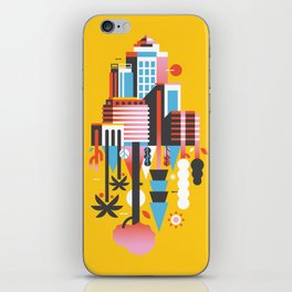 Natural Recall · Support Green iPhone Skin