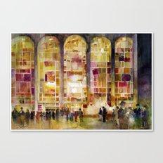 Lincoln Center, New York Canvas Print