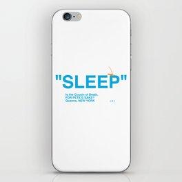 """SLEEP"" iPhone Skin"