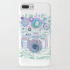 flower camera iPhone 7 Plus Slim Case