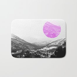 The Circle In The Mountains III Bath Mat