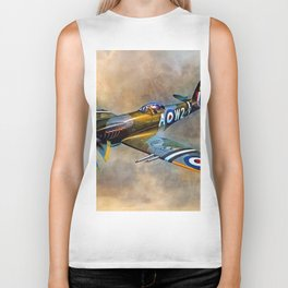 Spitfire Dawn Flight Biker Tank