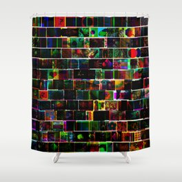 CMY Google Image Results Shower Curtain