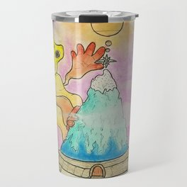 Sun Giant in the Clouds Travel Mug