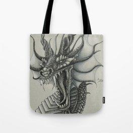Dragon Bust  Tote Bag