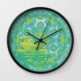 wreck in mandala Wall Clock