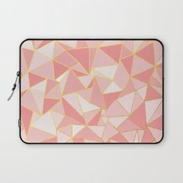 Ab Out Blush Gold Laptop Sleeve