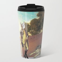 The Difference Between Cats and Dogs Travel Mug
