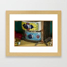 Jewelry box Framed Art Print