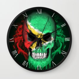 To The Core Collection: Guyana Wall Clock