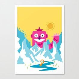 Big Pink! Canvas Print