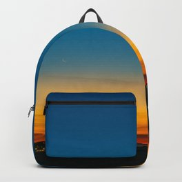 Crescent Moon at Sunrise Backpack