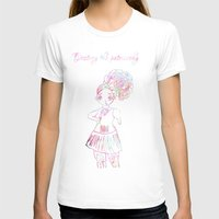 patriarchy T-shirts featuring destroy the patriarchy (pretty feminist) by Adam M. Snowflake