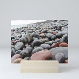 Wet Rocks Mini Art Print