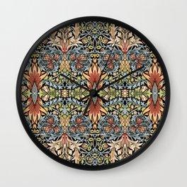 "William Morris ""Snakeshead"" Wall Clock"
