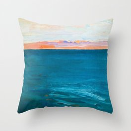 Red Sea, Suez - Digital Remastered Edition Throw Pillow