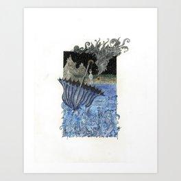 Current Express Art Print
