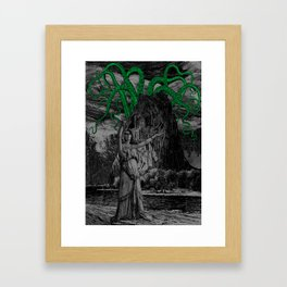 The Call of Cthulhu Framed Art Print