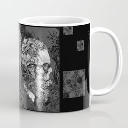 hipster floral skull 2 Coffee Mug