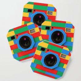 rainbow retro classic vintage camera toys Coaster