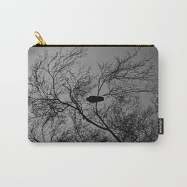 The Sentinal ~ Grey Abstract Carry-All Pouch