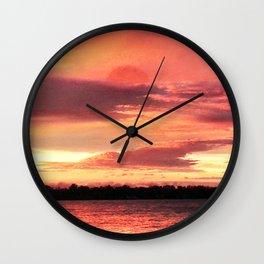 padparadscha Wall Clock