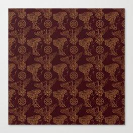 Empire Style Pattern Canvas Print