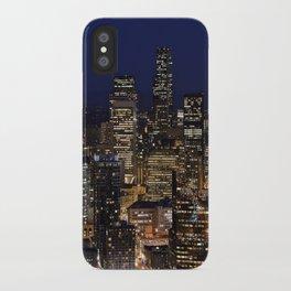 Quiet In My Town iPhone Case