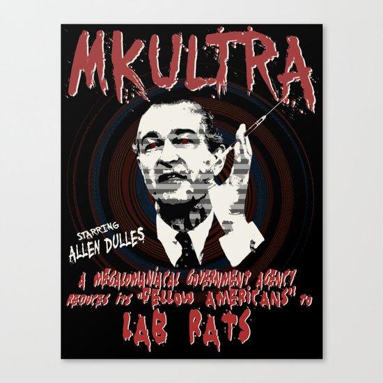 MKULTRA Canvas Print