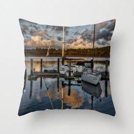 Coos Bay Throw Pillow