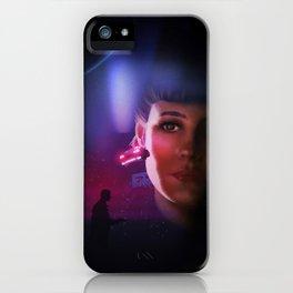 Rachael Blade Runner Poster iPhone Case