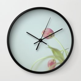 Tulips life Wall Clock