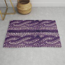 stone tile 4378 ultra violet Rug