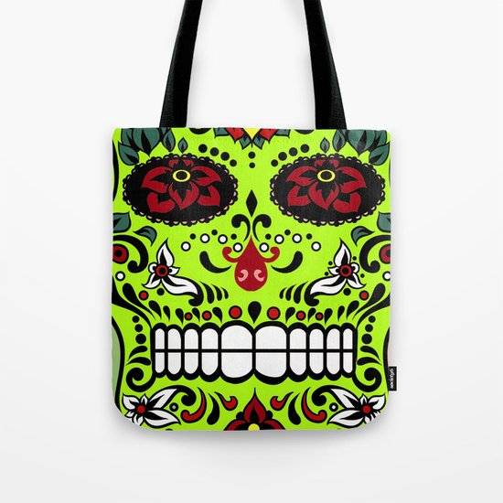 Sugar Skull #7 Tote Bag