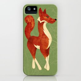 Foxing Around iPhone Case