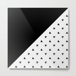 Triangle and triangles Metal Print
